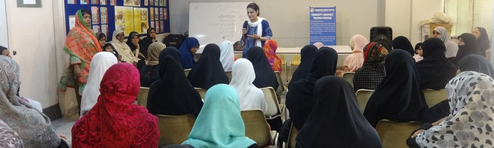 SSLA-IBA faculty Dr. Gulnaz Anjum conducted a Community Well-being Workshop
